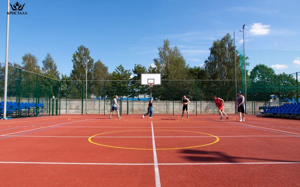 Спортивные площадки «ОАО «ПО «Кристалл»