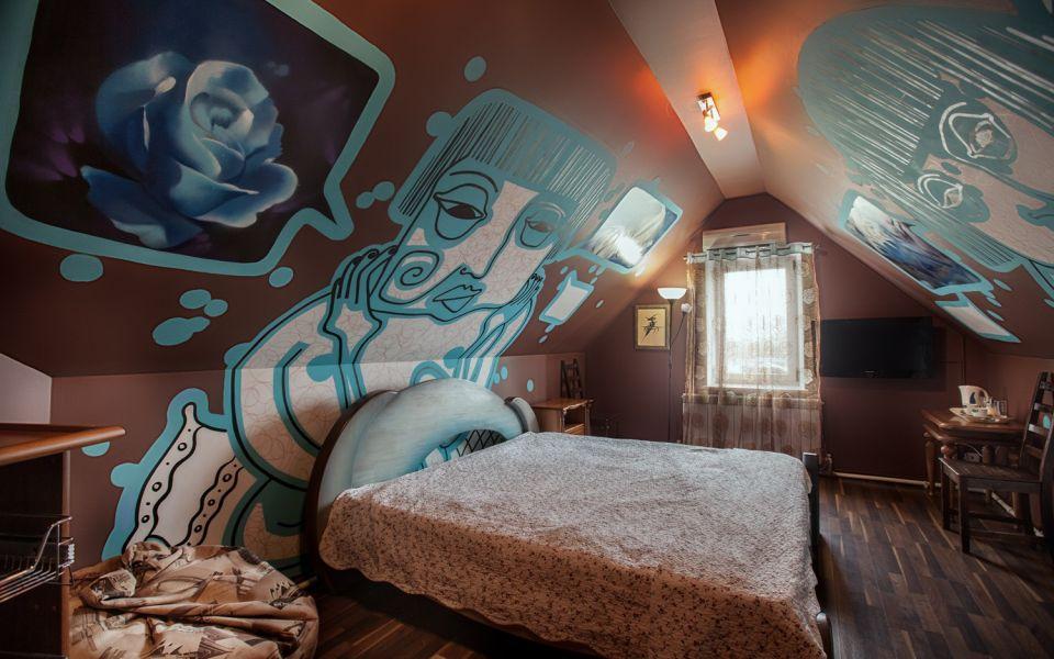 Гостиница «Колесо» в Смоленске - номер Хайтэк