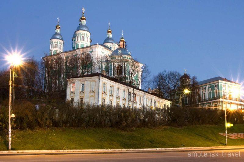 Соборный холм Смоленск
