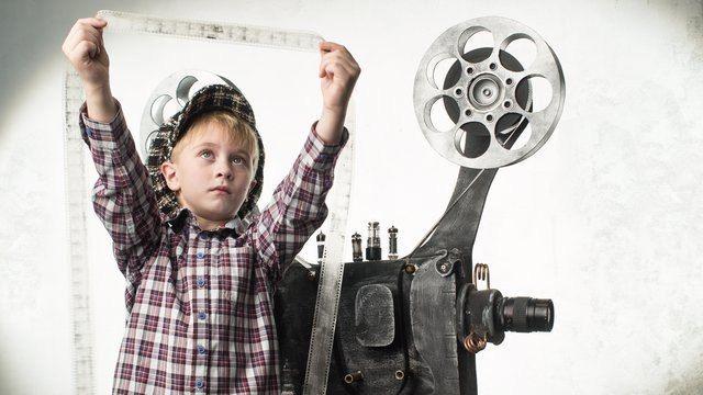 Открытый урок в детской киношколе Отдел кадров