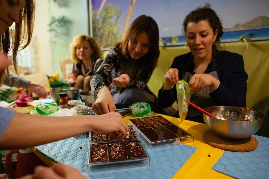 Шоколадный мастер-класс в Смоленске