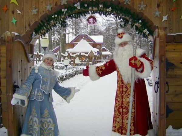 Дед Мороз и Снегурочка в Смоленске