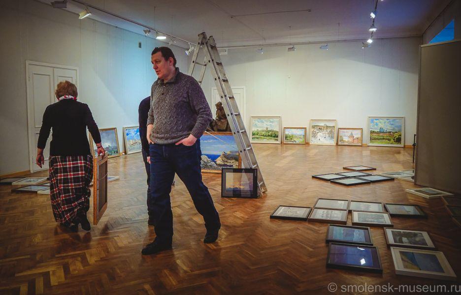 Выставка Алексея Буртасенкова откроется 5 декабря