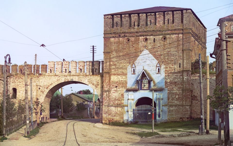 Смоленск. Никольские ворота.