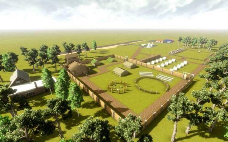 Проект комплекса курганов к 2014 году