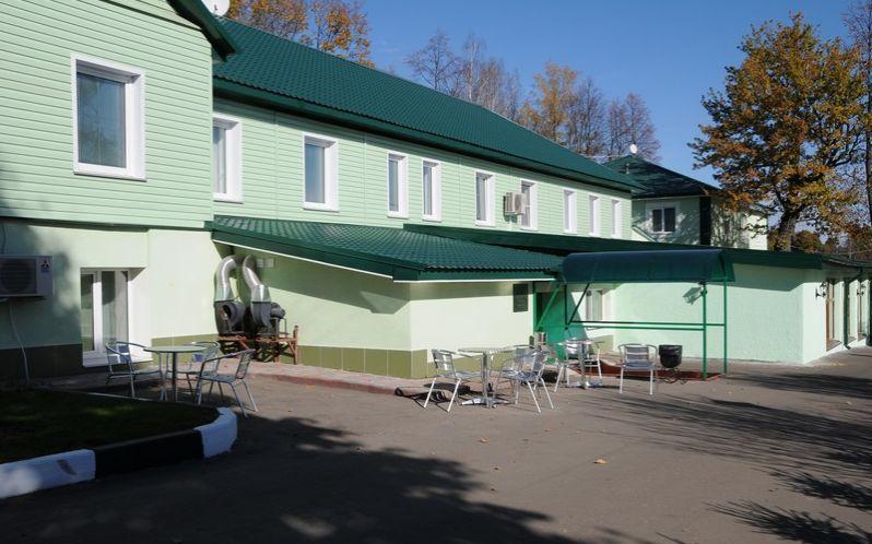 Территория гостиницы