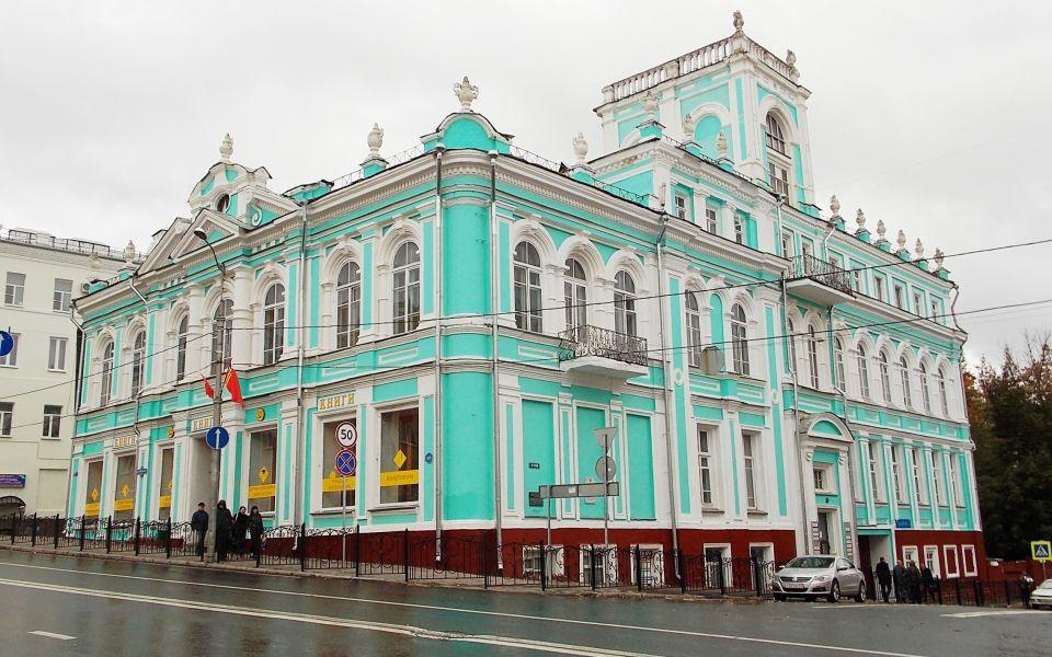 Дом книги (бывший дом купца Павлова)  сейчас
