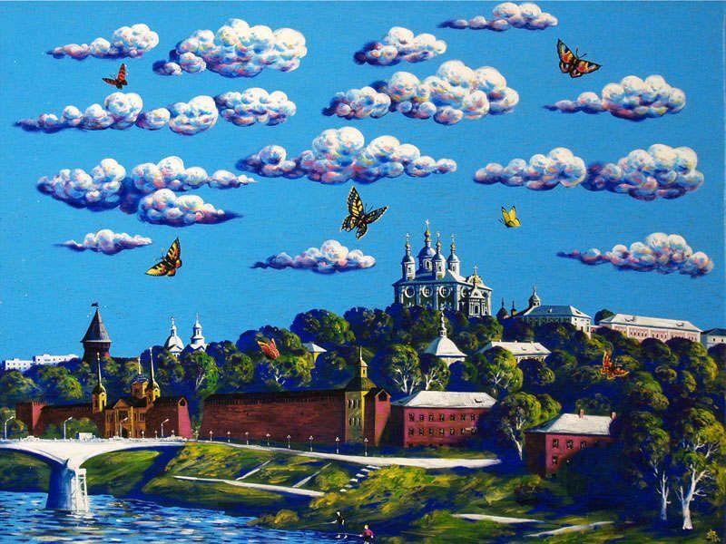 Выставка Владимира Еленецкого