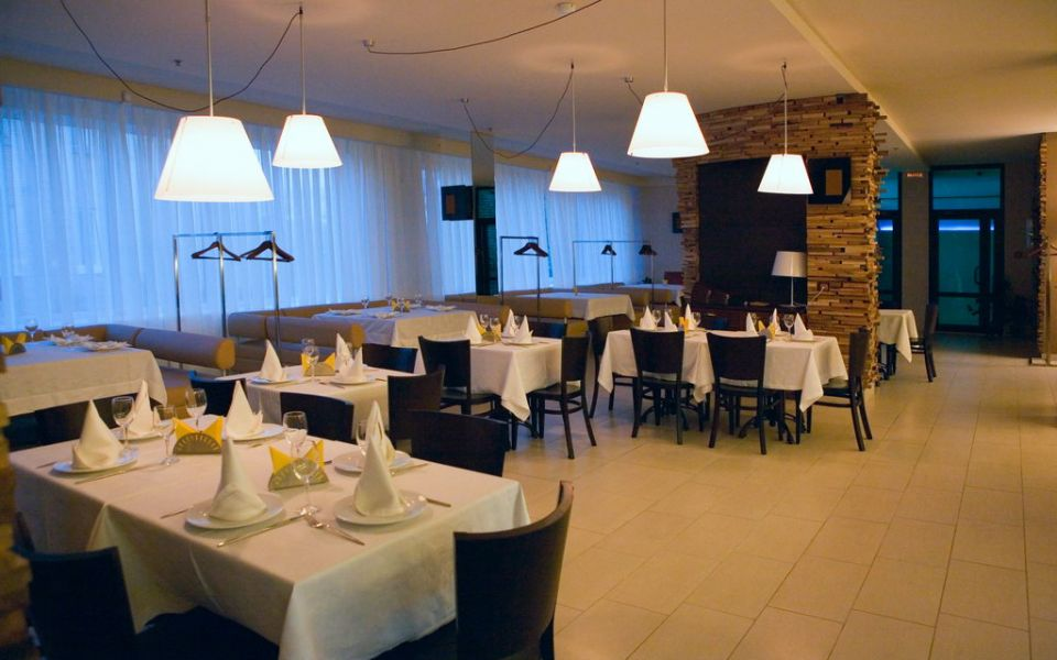Интерьер ресторана «Виктория»