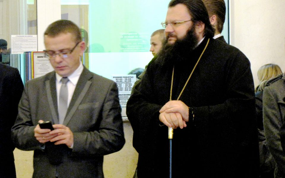 Открытие картины «Смоленск православный»