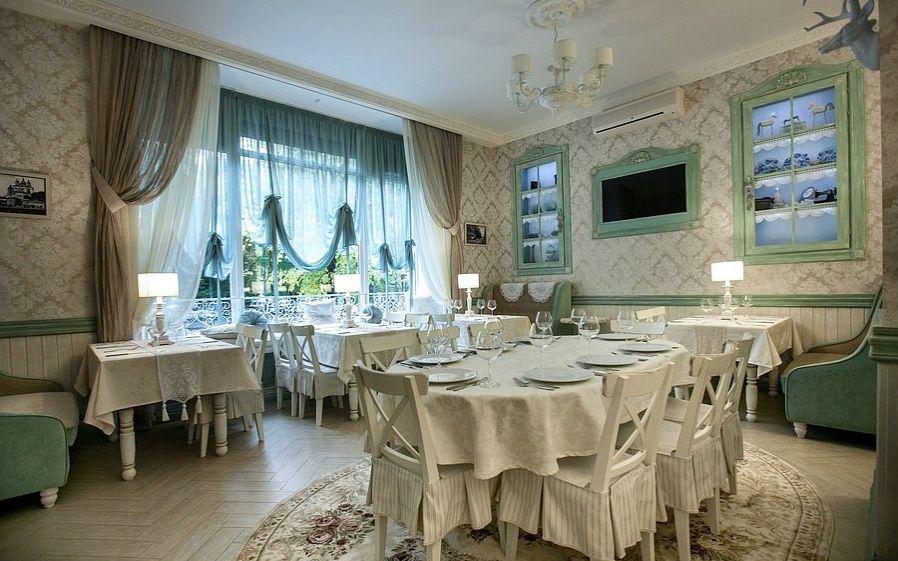 Интерьер ресторана «Городъ»