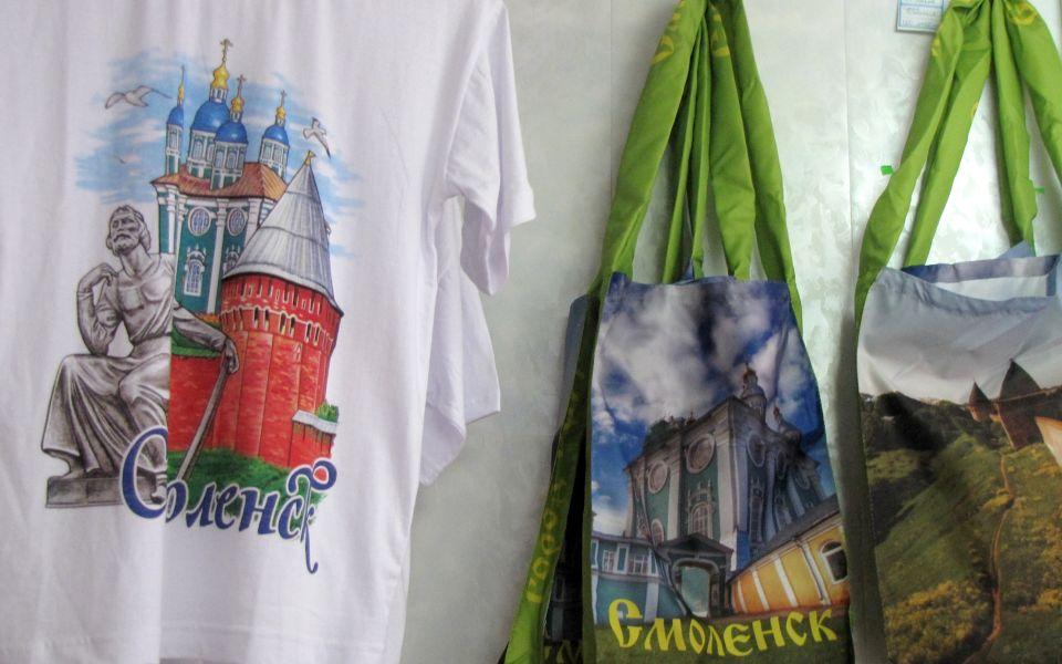 Майки и сумки со Смоленском