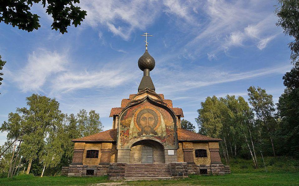 Церковь Святого Духа с мозайкой Н.Рериха