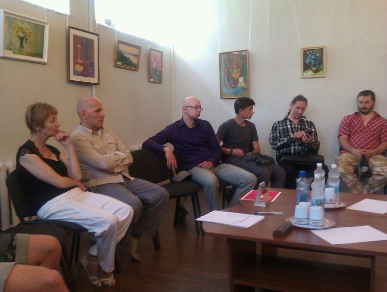 Пресс-конферниция собрала многих участников «Встре
