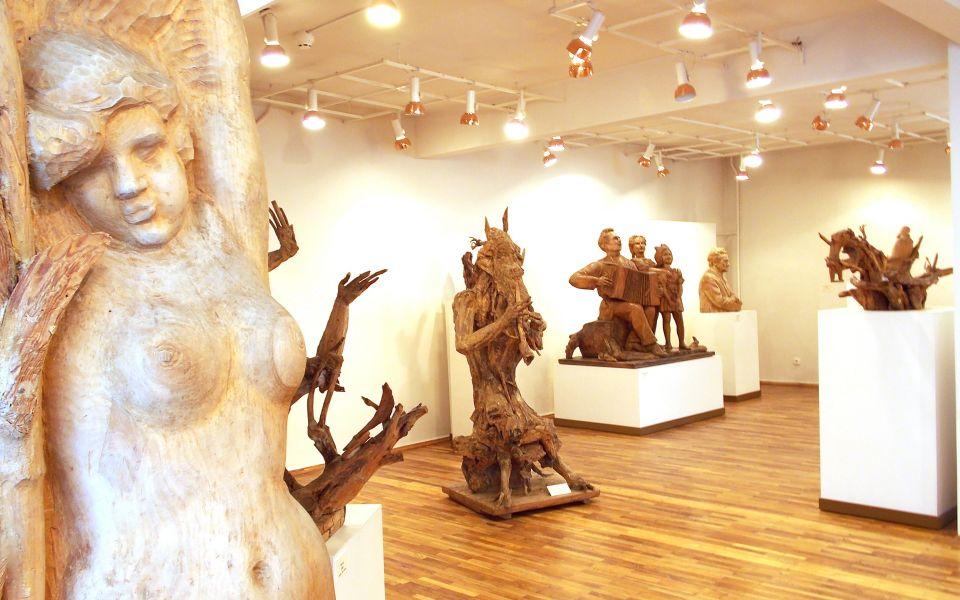 Экспозиция на 2 этаже музея
