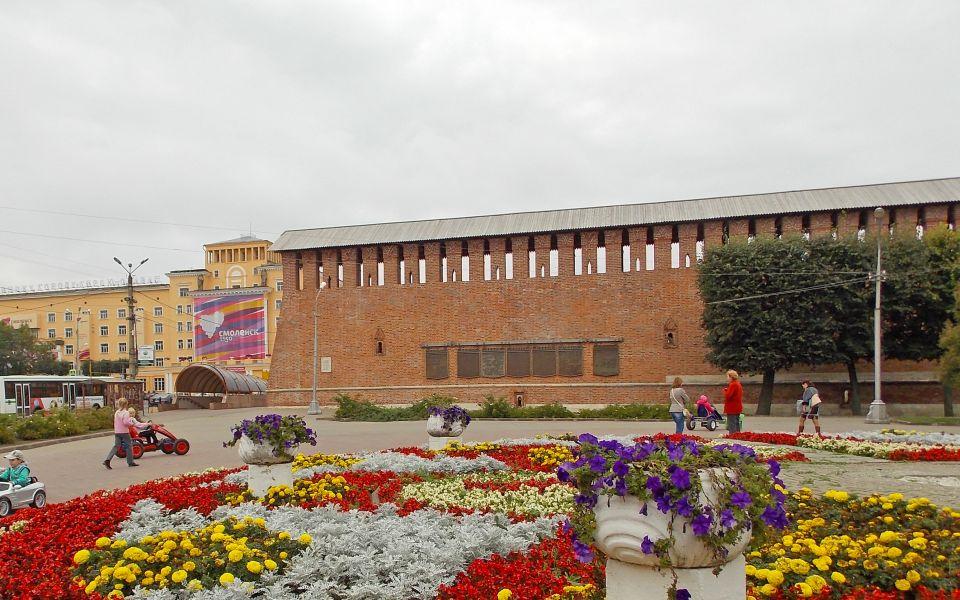 Участок Смоленской крепостной стены