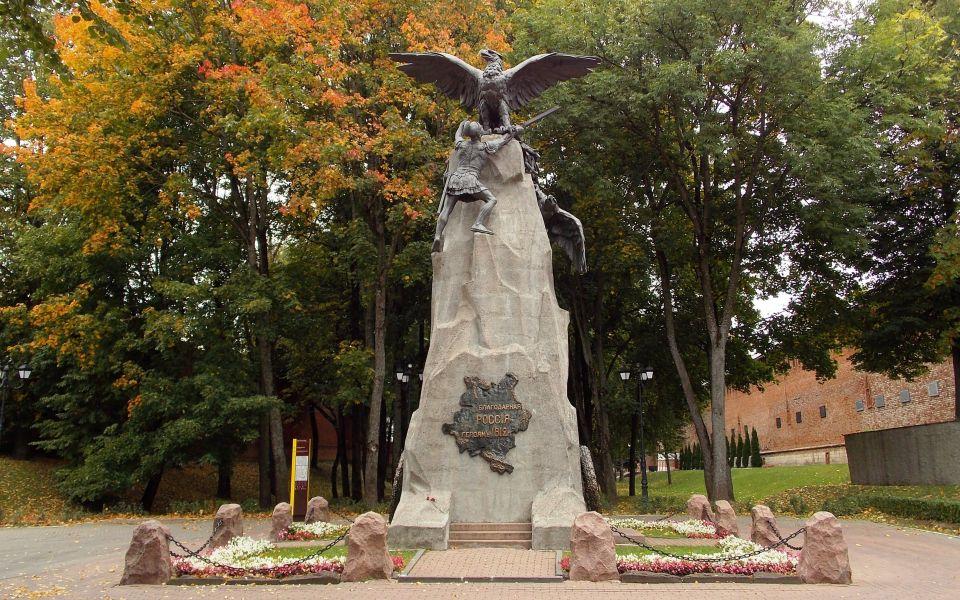 Памятники в центре смоленска заказать памятник нижний ялте