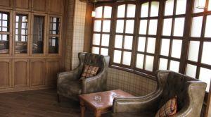 Гостиница «Колесо» в Смоленске - сигарная комната