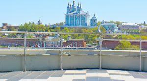 Смотровая площадка панорамного кафе в Смо