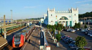 В Смоленск на «Ласточке»
