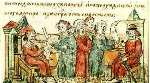 Гравюра из Радзивилловской летописи