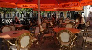Летняя площадка кафе «Самовар»