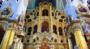 Иконостас Смоленского Успенского собора