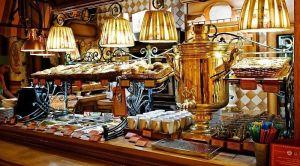 Меню кафе «Самовар»