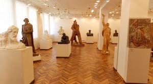 Экспозиция на 1 этаже музея