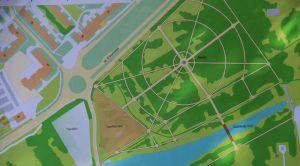 План парка в Лесопитомника
