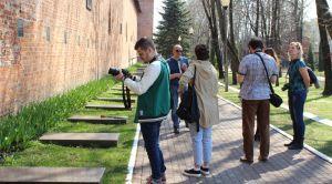 В Сквере памяти Героев в Смоленске