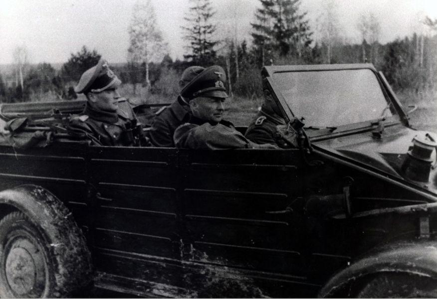 Фельдмаршал фон Клюге в Смоленске