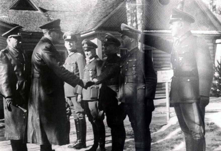 Адольф Гитлер в Смоленске. Красный бор