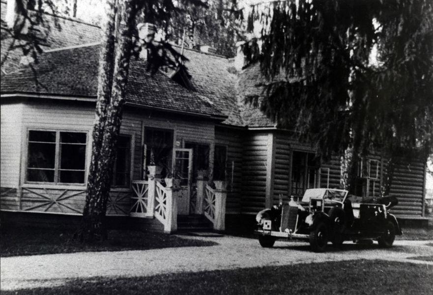 Дом фельдмаршала фон Клюге в Красном бору