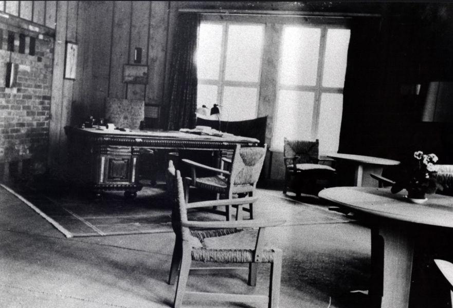 Кабинет фельдмаршала фон Клюге в Красном Бору