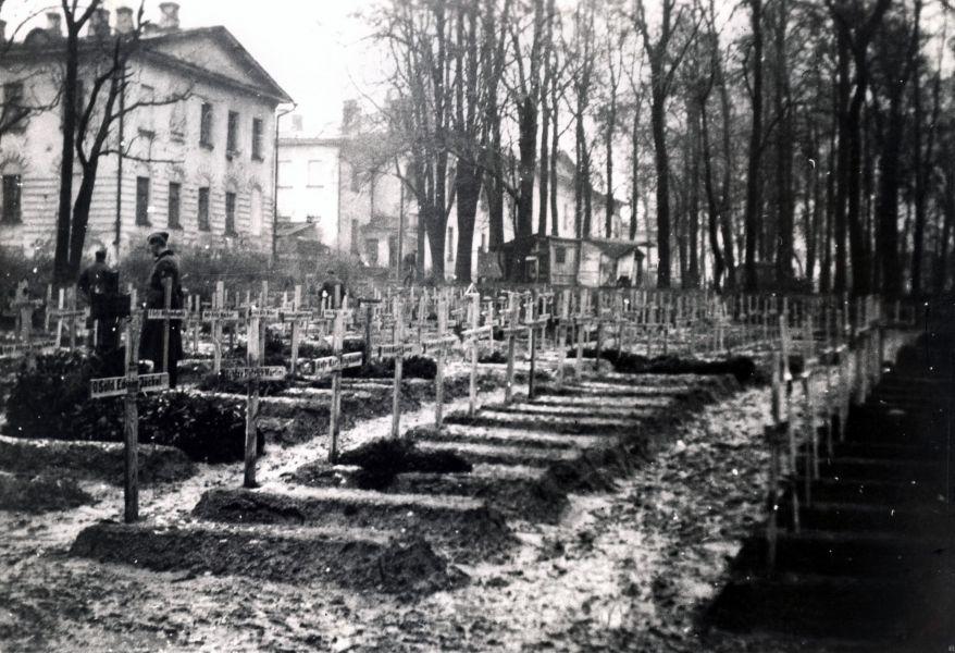 Немецкое кладбище в Смоленске