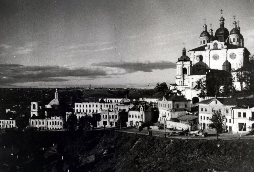 Вид на Соборный холм с запада