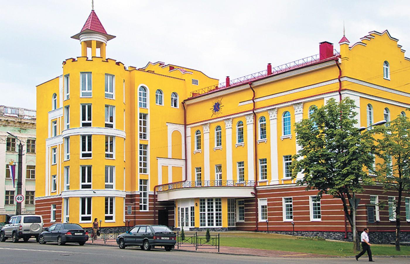 схема зала дома проффсоюзов смоленск